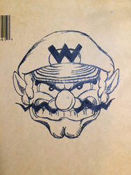 Wario Time (Pen Sketch)