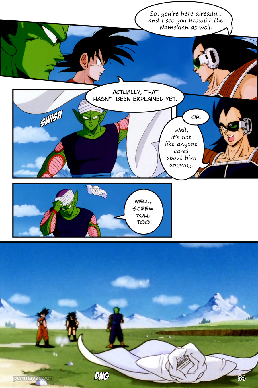 Funny Dragon Ball Z Abridged Memes : Dragonball z abridged the manga page by