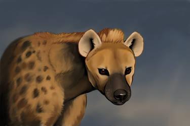 Hyena by Loberono