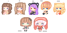 C: Pixel icons Batch by lmsubscribing