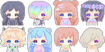 Pixel icons batch~ by lmsubscribing
