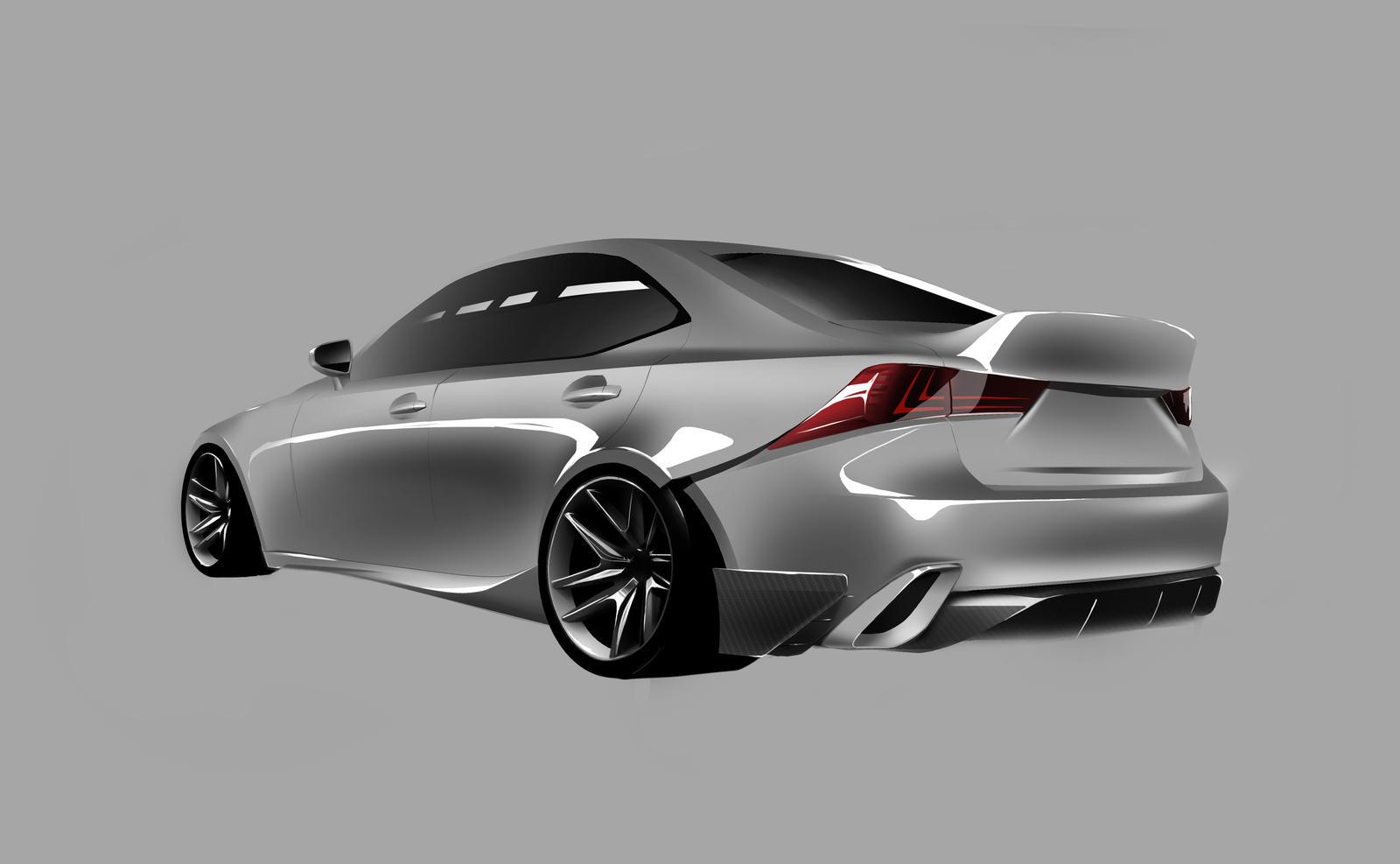 Lexus IS entry by jkwonman