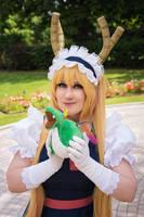 Dragon Maid - Cutie Dragon Plush 2 by AngelAngelyss