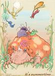 Summertime: Pikmin Art