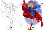 Supergirl by Adam Hughes