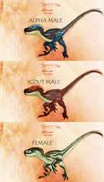 Jurassic Park Mutant Velociraptor
