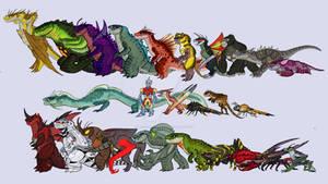 Legendary Kaiju Lineup
