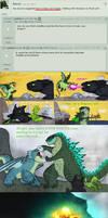 Godzilla - How to Train Your Dragon