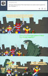Godzilla - Super Sentai