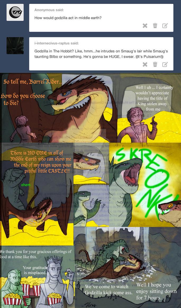 Godzilla - the Hobbit 2 by RoFlo-Felorez