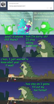Godzilla - Monster's Inc