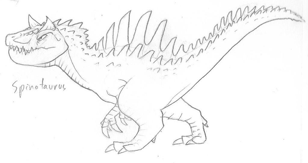 Spinotaurus by RoFlo-Felorez