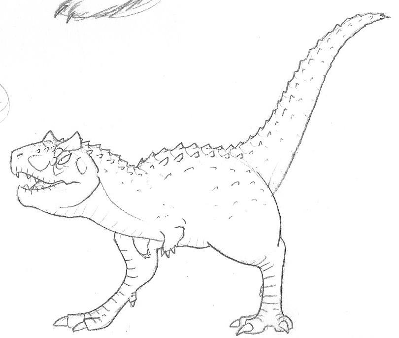 Carnotaurus by RoFlo-Felorez