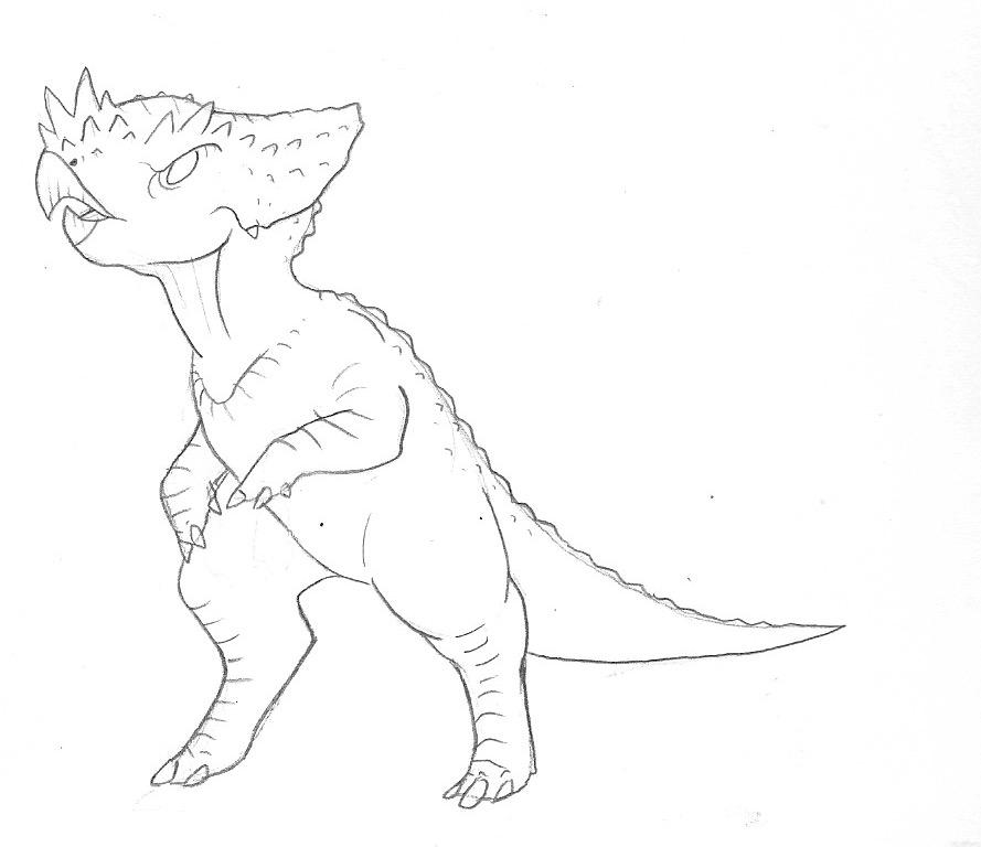 Pachyceratops new by RoFlo-Felorez