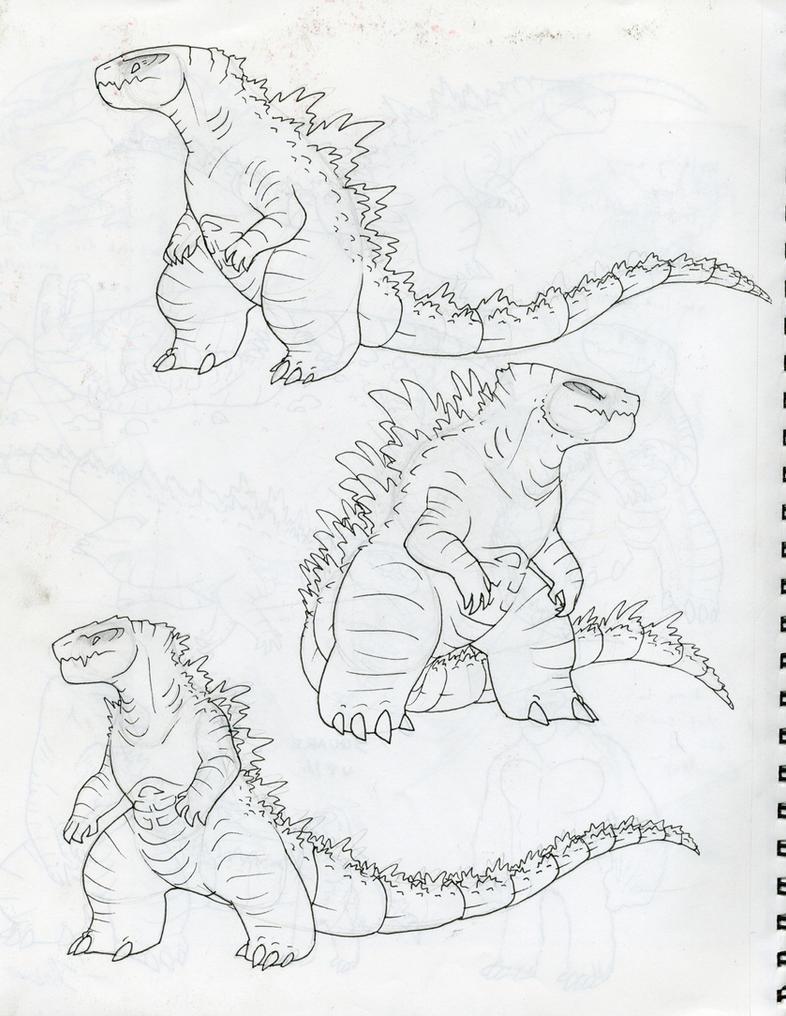 Godzilla Adults030 by RoFlo-Felorez