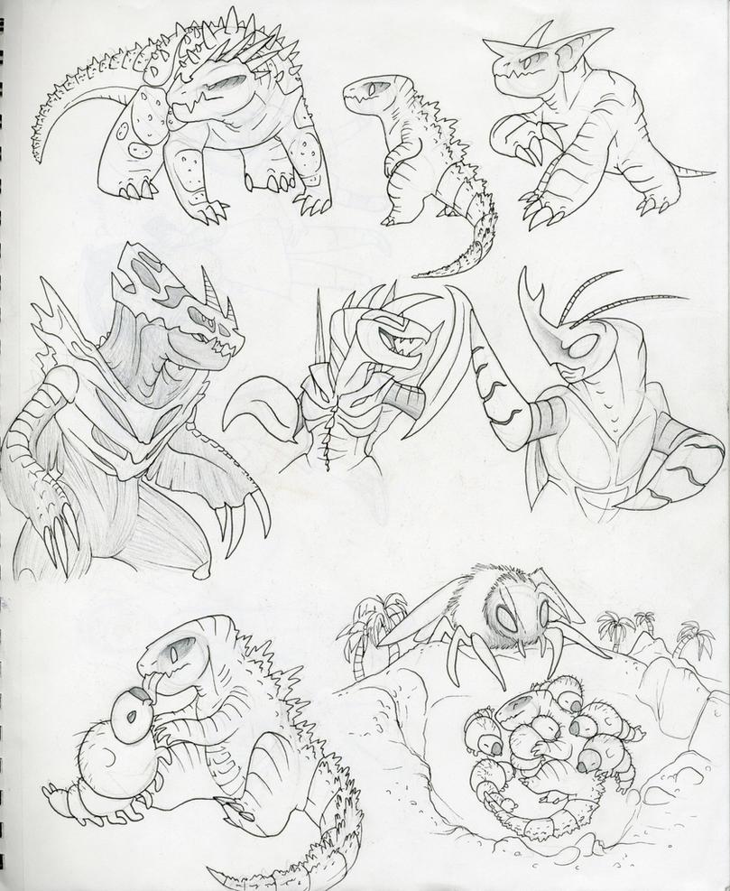 Extra Kaiju 031 by RoFlo-Felorez