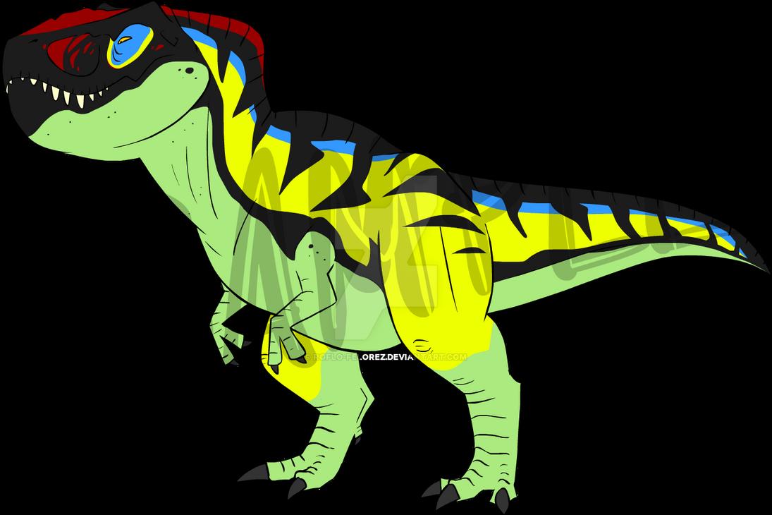 Thrasher T-Rex SOLD!! by RoFlo-Felorez
