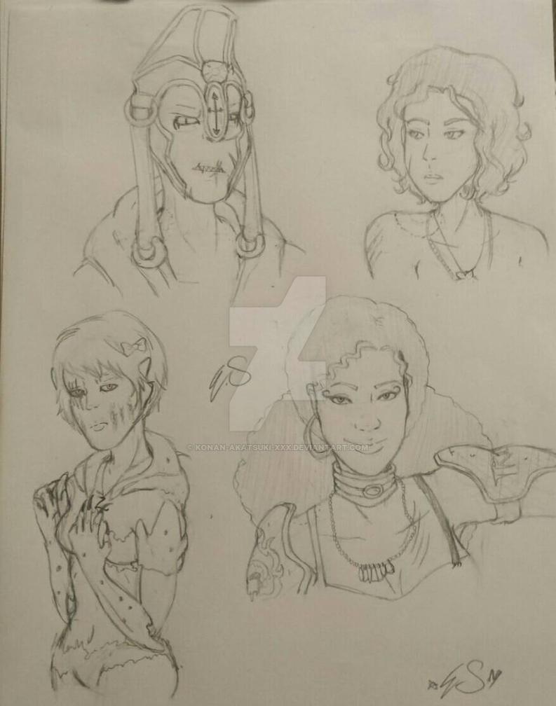 ARWT sketches by konan-akatsuki-XxX