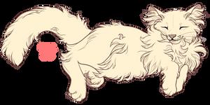 Kitten Lineart - P2U (price reduced to 100) by serialdad