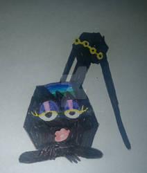 Jack-O Hexagon Lady