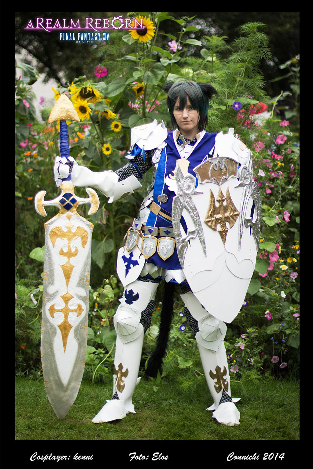 Final Fantasy 14 FFXIV - Miqote Paladin Cosplay by ...