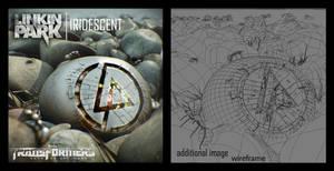 Iridescent artwork for LP
