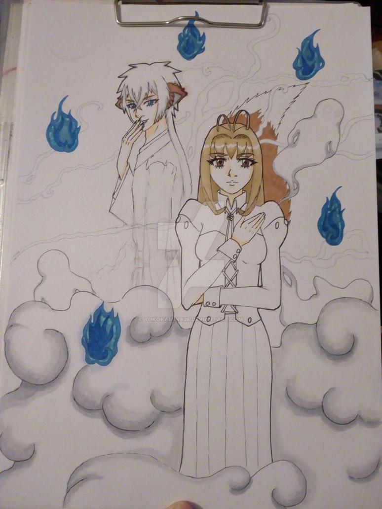 new sketch by YokoKamina26