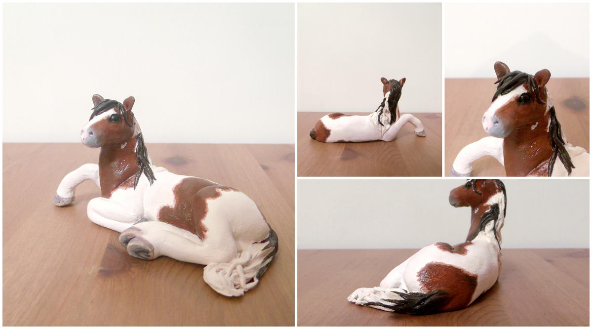 Horse Figurine Commission by MyselfMasked