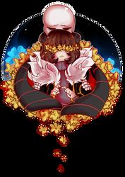 Flowerfell [SPEEDPAINT] by sarcellelena