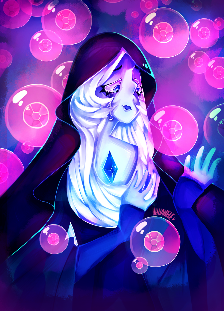 ...of feeling blue? Watched all of the SU leaks and as soon as I saw this beauty's face I instantly fell in love with her. Speedpaint Link : youtu.be/nYIq7WZprGs Steven Universe (C) Rebecca Su...