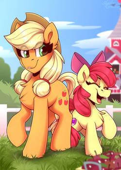 Applekjack and AppleBloom (Sisters)