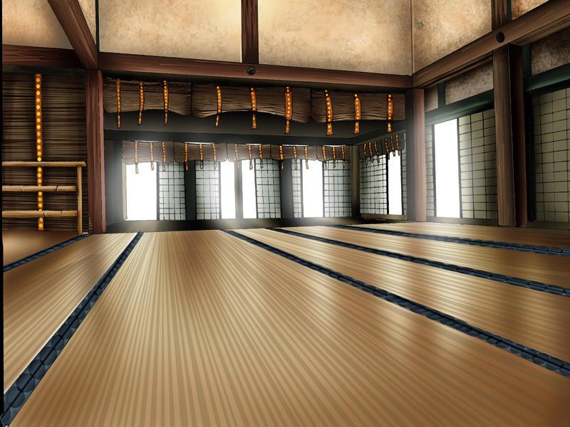 - Sala de treinamento (dojo) - The_Dojo_by_eigo_otaku