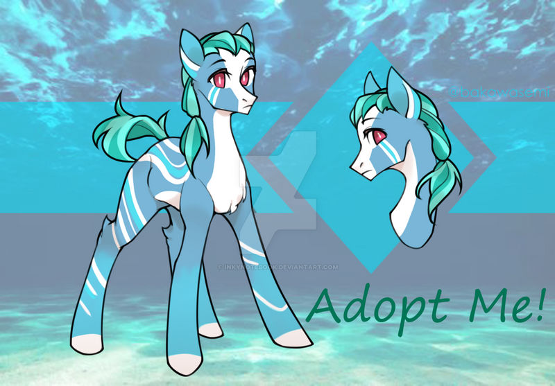 Open Ocean Pony Adopt By Inkynotebook On Deviantart