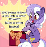 Twitter and Instagram giveaway! by InkyNotebook