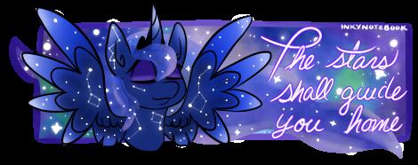 Luna shall guide you home