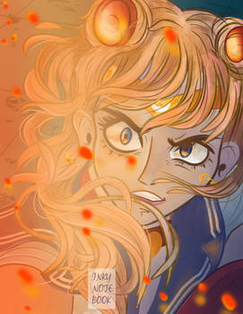 Gave the Sailor Moon Redraw Challenge a try
