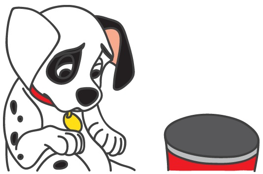 Stomach Growling Dog Clip Art – Cliparts