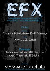 EFX - Flyer Part IV