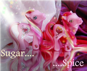 Sugar and Spice ponies