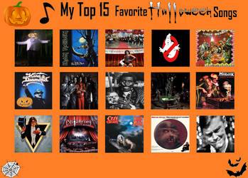 My Top 15 Favorite Halloween Songs by RazorRex