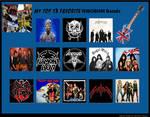 My Top 13 Favorite NWOBHM Bands by RazorRex