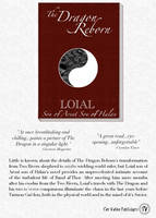 Advertisement for Loial's Book by minniearts