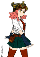 BnH Academia - Hatsume by PhCreator