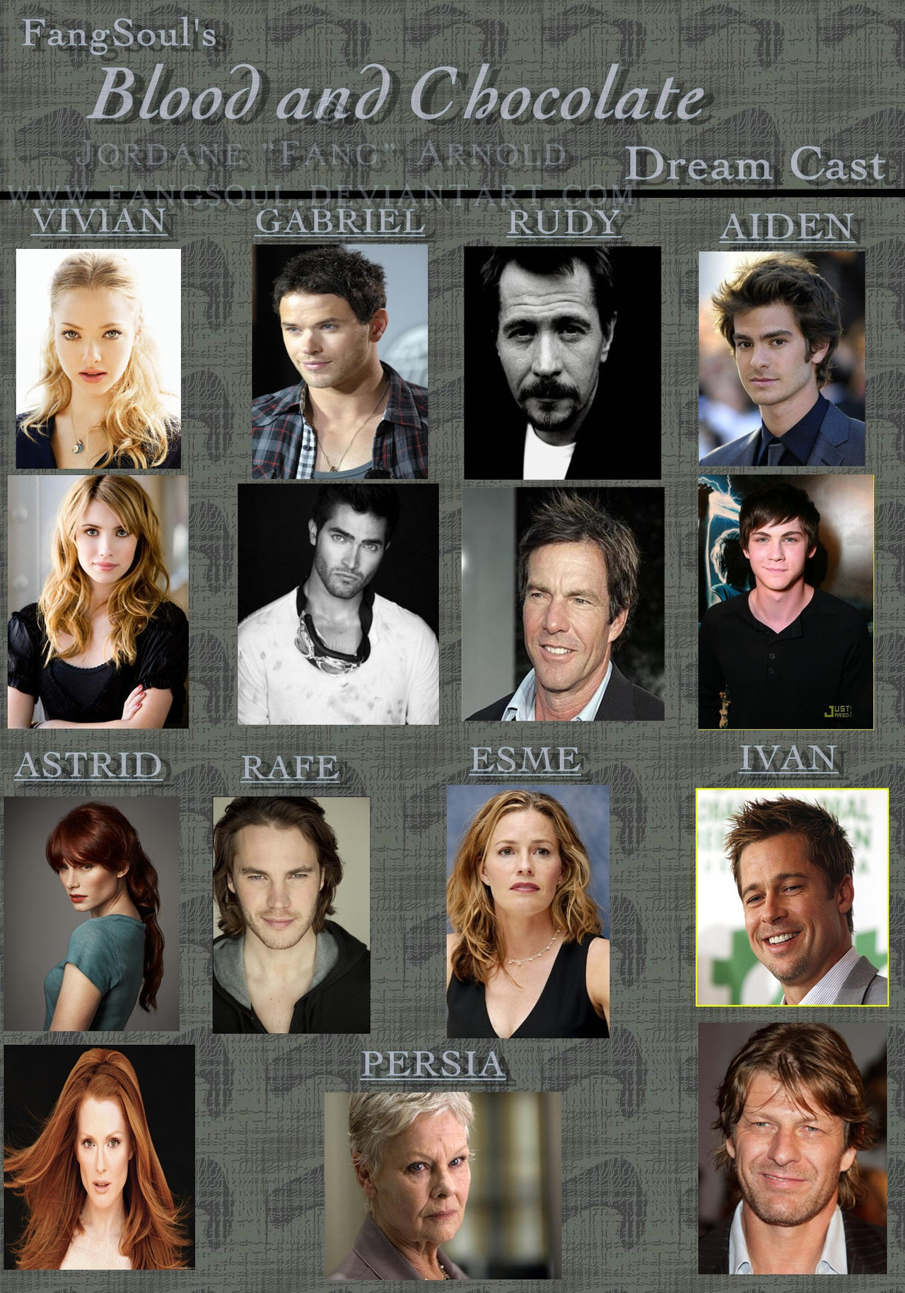 Blood and Chocolate Dream Cast - Blood and Chocolate Images ...