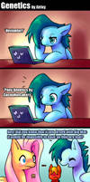 Pony genetics - Fluttershy's reaction