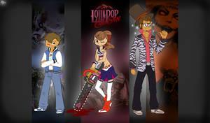 Lollipop Chainsaw crossover wallpaper