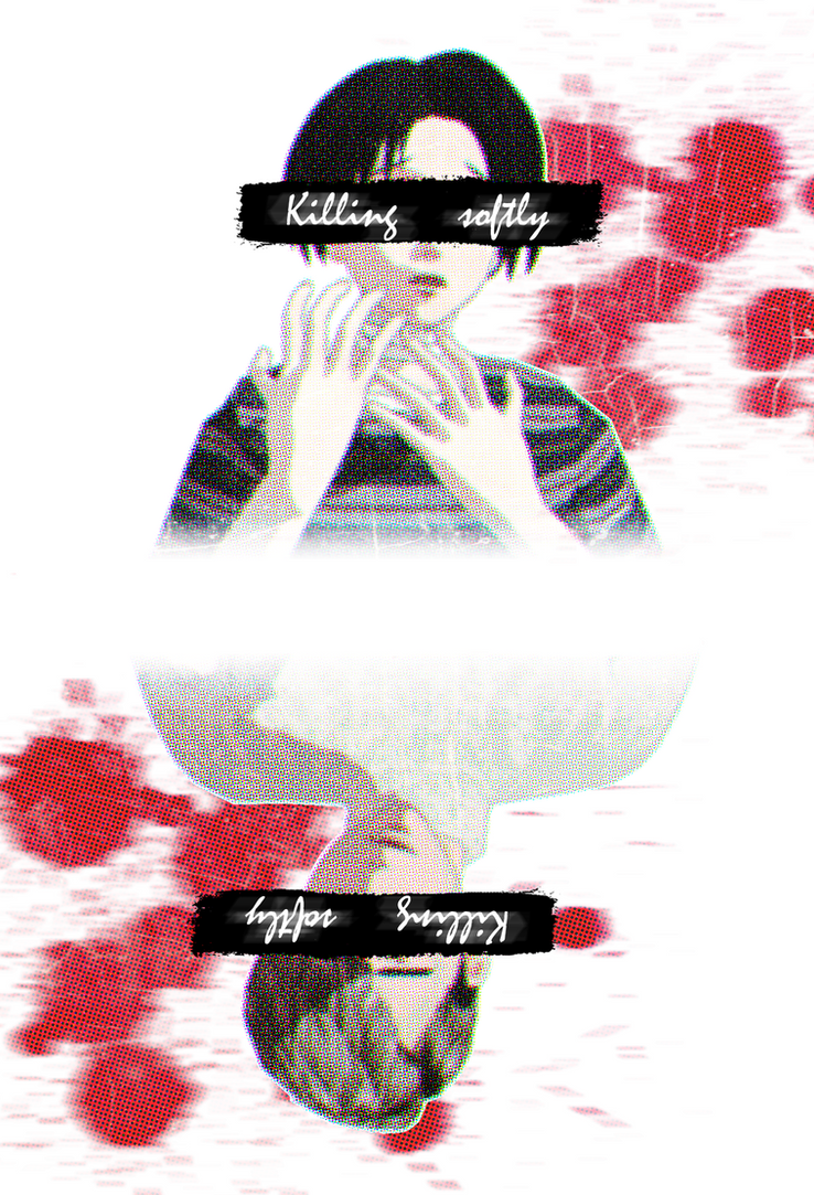 [MMDxPhotoshop] Killing...softly by JoanAgnes