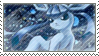 Glaceon Stamp by Birdinator
