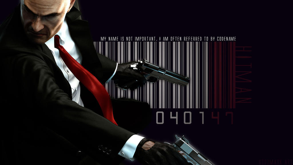 Video Games Hitman Barcode Hitman Absolution A by GODzMASK ...