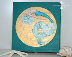 Serenity Mermaid Keepsake Box WIP